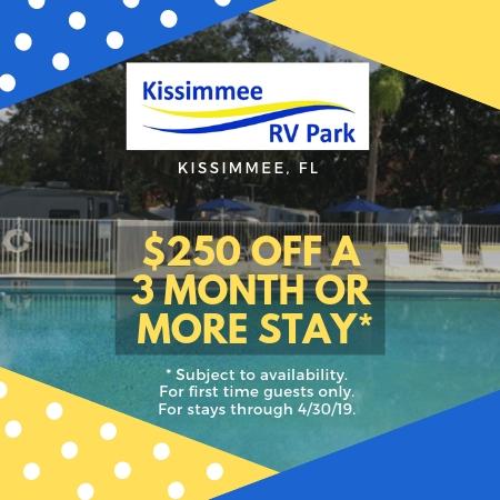 Orlando Florida Campground Rv Park Kissimmee Rv Park
